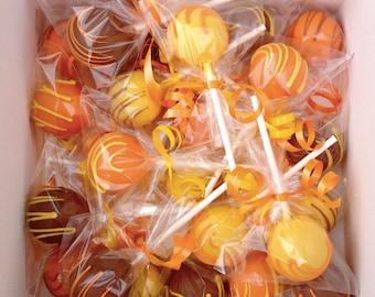 Cake Pops, Autumn,Falltime, Cake Pops Favors, Fall Cake Pops