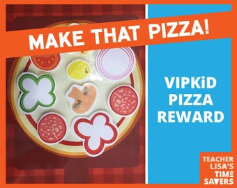 VIPKID Build a Pizza Reward Set