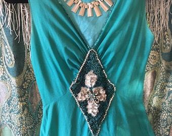 Performance Dress Vintage. ( Circa 1985) Size 9/ 10