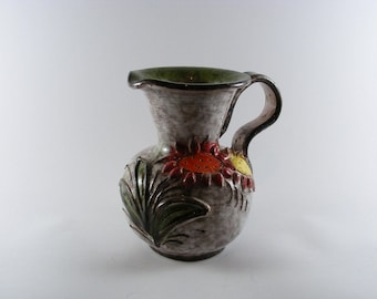 Handmade Pottery - Ceramic Floral Vase