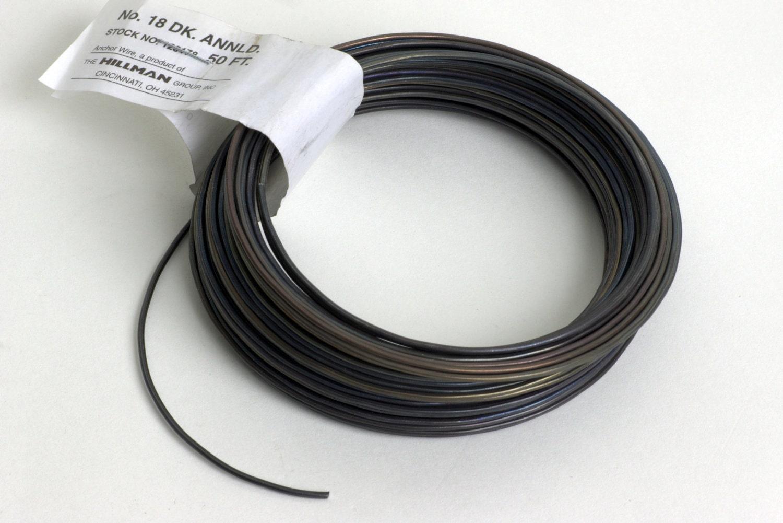 18-gauge Dark Annealed Stovepipe Wire WIRE-18G