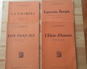 Lelisir d'amore by Gaetano Donizetti