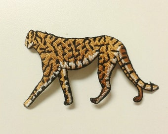 Cheetah Iron on Patch