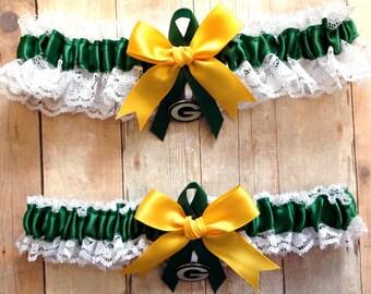 Packers garter   Etsy