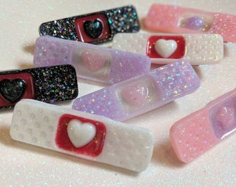 Band-aid menhera hair clip