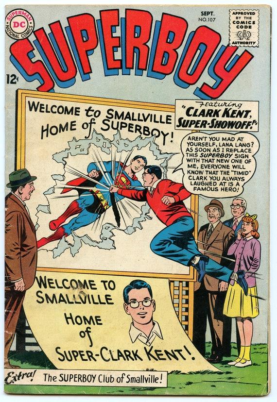 Superboy 107 Sep 1963 VG (4.0)