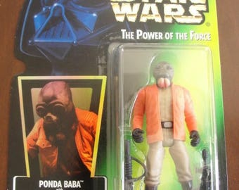 Star Wars The Power of the Force PONDA BABA Action Figure - NEW - Kenner