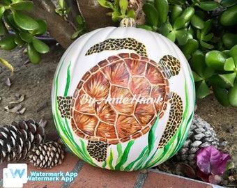 Sea Turtle Pumpkin