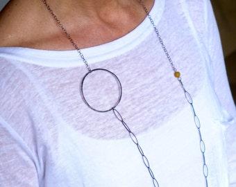 Mix and match necklace. Long necklace. Boho necklace, Bohemian necklace. Contemporary necklace,  bohemian jewelry, Chick necklace