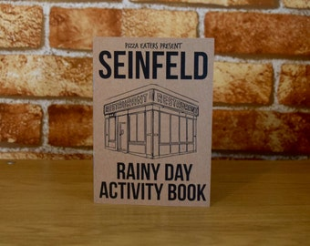 Seinfeld Rainy Day Colouring Activity Book