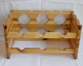 Varnished Wine Rack