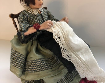Miniature Doll, Sewing