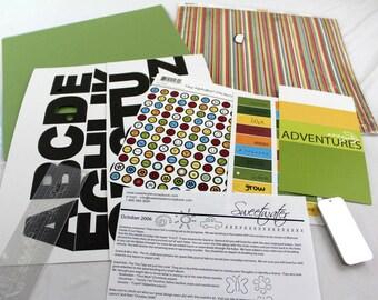 Sweet Water Scrapbook Themed Paper Kit 20+ 12 x 12 Paper