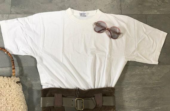 Vintage Jil Sander shirt | cotton shirt | white shirt | vintage shirt | vintage t-shirt | designer shirt, size M L