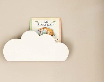 Cloud shape shelf