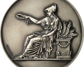 France Medal Chambre Départementale Des Notaires Du Pas De Calais 1965