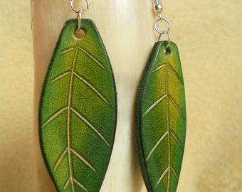 Nature Bohemian fairy elven earrings