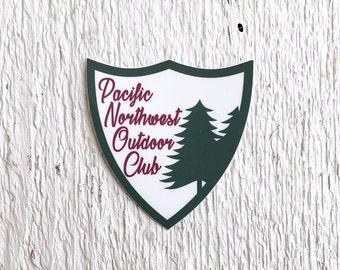Pacific Northwest Outdoor Club Sticker