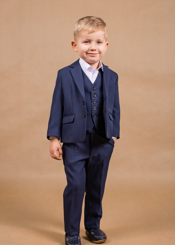 Wedding boy outfit Ring bearer suit Boy wedding suit Baptism