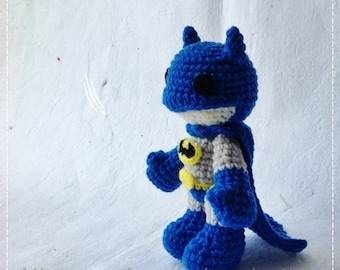 Batman 6 inches - PDF amigurumi crochet pattern
