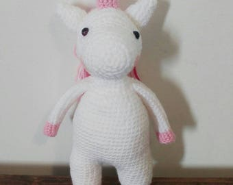 Crochet Unicorn stuffed toy