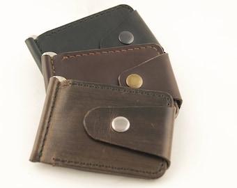 Leather Money Clip Handmade