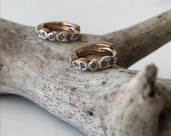 Punta Cana hoop earrings