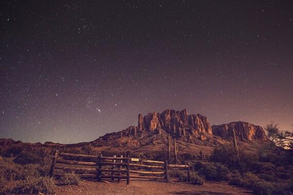Sterren sterrenhemel Sterrennacht woestijn woestijn