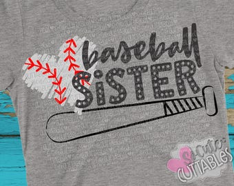 Baseball sister SVG, Basbeball svg design, little sister SVG, live love baseball svg, baseball cut file, baseball bat svg, SoCuteCuttables
