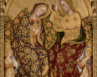 Poster, Many Sizes Available; Gentile Da Fabriano - Coronation Of The Virgin #031715