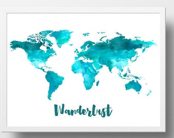 Free world map poster roho4senses free world map poster gumiabroncs Images