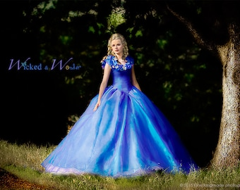 Costumes dresses princess belle cinderella by wickedandwonder cinderella solutioingenieria Images
