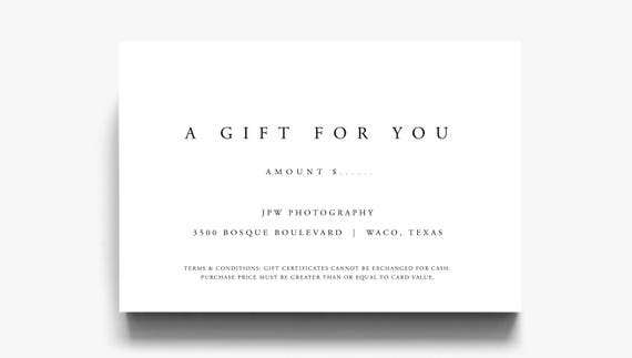 Gift certificate template a gift for you gift voucher yelopaper Images