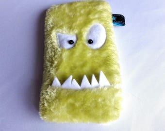 Big + cellphone bag monster lime