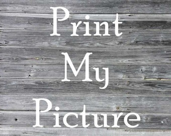 Print My Picture Fee