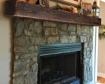 Mantel Fireplace 6x6 Mantle Rustic