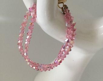 Crystal Infinity Bracelet