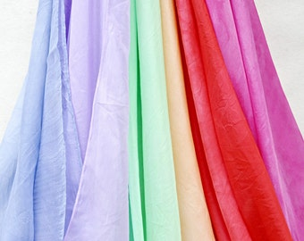 Hand Dyed Silk Playcloth