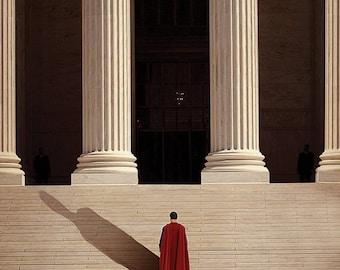 The Steps (Batman v Superman) Poster