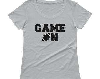 GAME ON!  Football Fan T-Shirt!