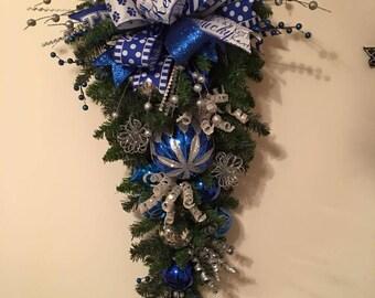Christmas Swag, Kentucky Swag, Holiday Sway