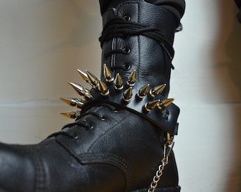 Spiked Boot Strap ( Pre order )