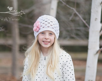 Easter Outfit for Girls, Baby Easter Hat, Crochet Hat, Baby Beanie, Baby Girl Hat, Womens Hat, Hats for Kids, Childrens Clothing, BabyShower