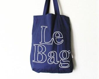 Vintage Inspired Le Bag MarketTote Bag 1980s