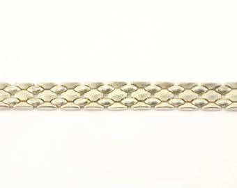 Vintage Link Bracelet Sterling Silver BR 2362
