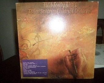 Vintage 1969 Vinyl LP Record To Our Childrens Childrens Children The Moody Blues Near Mint Condition 6299