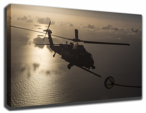 Sikorsky HH-60 Pave Hawk Helicopter Canvas/Poster Wall Art Pin