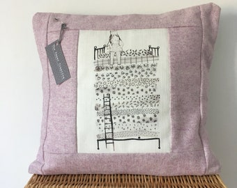 Pink cushion - princess and the pea