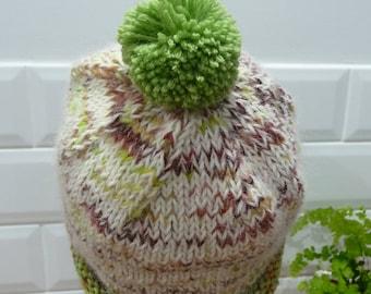 Alpaca & Pure Wool Winter Hat - 1726