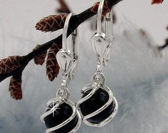 Onyx jewelry silver 925
